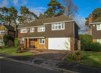 Thumbnail 5 bedroom detached house for sale in Chatsworth Heights, Camberley, Surrey