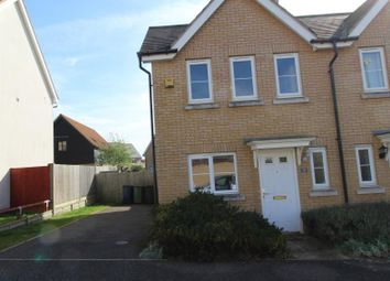 Thumbnail 2 bed end terrace house to rent in Stagwell Road, Great Cambourne, Cambourne