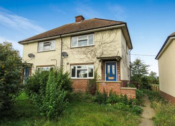 Thumbnail 2 bedroom semi-detached house for sale in Oaklands Avenue, Wistow, Huntingdon
