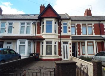 Thumbnail 3 bed terraced house for sale in Moorland Road, Cardiff, Caerdydd