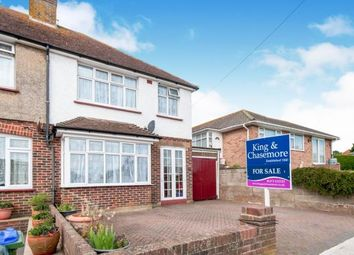 Thumbnail 3 bedroom semi-detached house for sale in Third Avenue, Newhaven, East Sussex