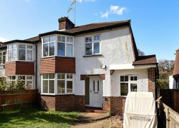Thumbnail 3 bed semi-detached house for sale in Brooklands Road, Weybridge