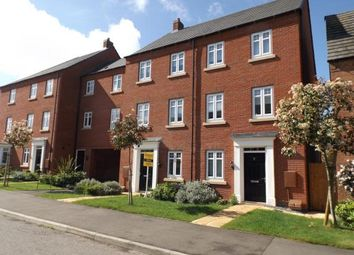 Thumbnail 4 bedroom terraced house for sale in Freshman Way, Market Harborough, Leicestershire