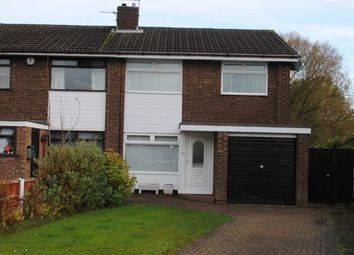Thumbnail 3 bed semi-detached house for sale in Worsborough Avenue, Great Sankey, Warrington, Cheshire