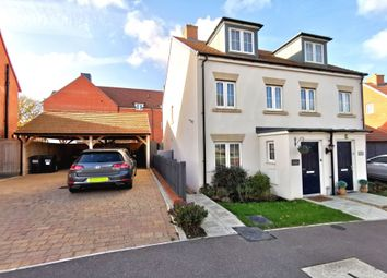 Thumbnail 3 bed semi-detached house for sale in Wood Sage Way, Stone Cross, East Sussex