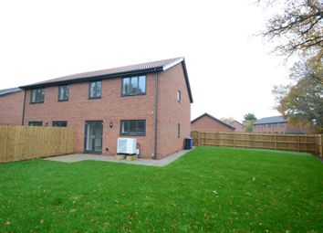 Thumbnail 3 bed semi-detached house for sale in The Street, Raydon, Ipswich