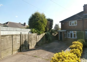 Thumbnail 2 bed end terrace house for sale in Clarendon Road, Sutton Coldfield