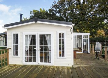 Thumbnail 2 bed mobile/park home for sale in Common Road, Pentney, King's Lynn