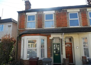 Thumbnail 2 bedroom end terrace house to rent in Salisbury Road, Reading