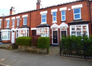 Thumbnail 3 bed terraced house for sale in Earls Court Road, Harborne, Birmingham