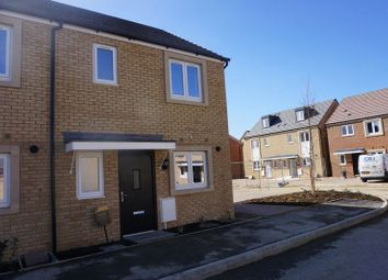 Thumbnail 2 bedroom end terrace house to rent in The Ridge, London Road, Hampton Vale, Peterborough