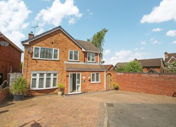 Thumbnail 4 bed detached house for sale in Berwyn Way, Nuneaton