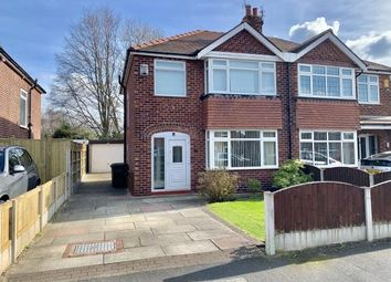 Thumbnail 3 bedroom semi-detached house for sale in Arnesby Avenue, Sale, Greater Manchester