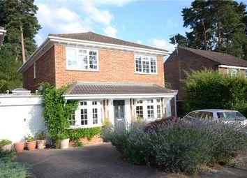 Thumbnail 4 bedroom detached house for sale in Tickenor Drive, Finchampstead, Wokingham