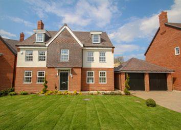 Thumbnail 5 bedroom detached house for sale in Josiah Drive, Barlaston, Stoke-On-Trent