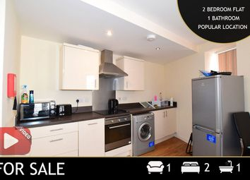 Thumbnail 2 bed flat for sale in Rutland Street, Leicester