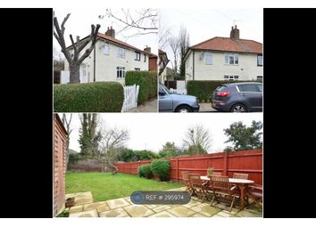 Thumbnail 3 bed semi-detached house to rent in Nowell Road, London