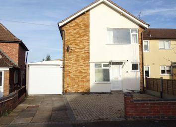 Thumbnail 3 bed detached house for sale in Brocks Hill Drive, Oadby, Leicester