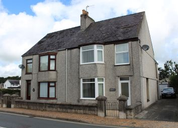 Thumbnail 3 bed semi-detached house for sale in Bridge Street, Llangefni
