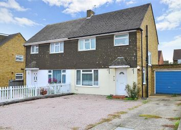 Thumbnail 3 bedroom semi-detached house for sale in Rowan Close, Aylesford, Kent