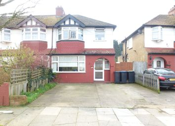 Thumbnail 3 bed terraced house to rent in Mapleton Crescent, Enfield
