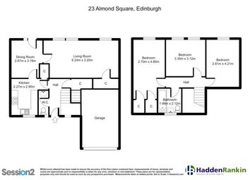 Thumbnail 3 bed end terrace house to rent in Almond Square, East Craigs, Edinburgh