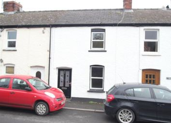 Thumbnail 2 bedroom terraced house for sale in Commercial Street, Abergavenny
