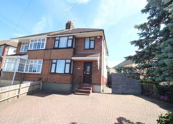 Thumbnail 3 bed semi-detached house for sale in Lamorna Avenue, Gravesend