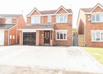 Thumbnail 4 bed detached house for sale in Nuthatch Close, Hartlepool