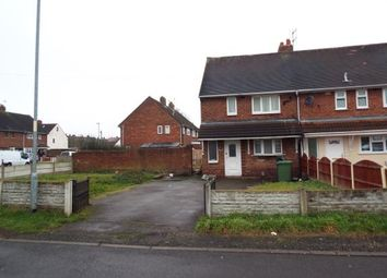 Thumbnail 2 bedroom end terrace house for sale in Lister Close, Beechdale, Walsall, West Midlands