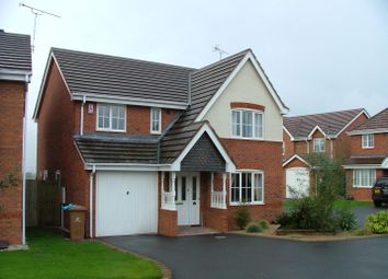 Thumbnail 4 bedroom detached house to rent in Whitehaven Grove, Chellaston, Derby