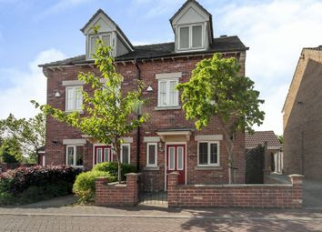 Thumbnail 3 bed semi-detached house for sale in Butlerwood Close, Kirkby-In-Ashfield, Nottingham