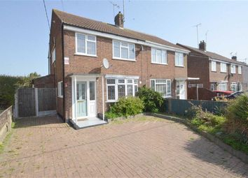 Thumbnail 3 bed semi-detached house for sale in Somerset Avenue, Rochford, Essex
