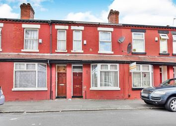 Thumbnail 2 bedroom terraced house for sale in Crondall Street, Rusholme, Manchester