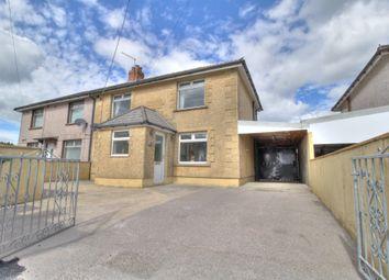 Thumbnail 3 bed semi-detached house for sale in Gelliargwellt Road, Penybryn, Hengoed
