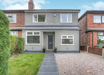 Thumbnail 3 bed semi-detached house for sale in Hopedale Road, South Reddish, Stockport