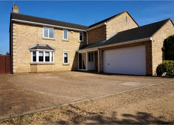 Thumbnail 4 bedroom detached house for sale in Waterside Gardens, Peterborough