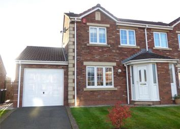 Thumbnail 3 bed semi-detached house for sale in Tribune Drive, Houghton, Carlisle