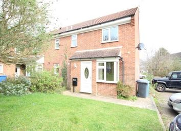 Thumbnail 1 bed end terrace house to rent in Brambleside Court, Kettering