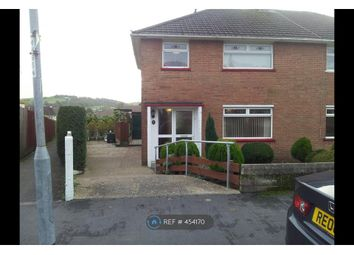 Thumbnail 3 bed semi-detached house to rent in Greenfield Road, Rogerstone, Newport