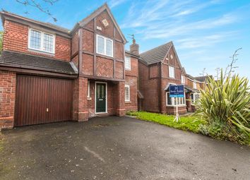 Thumbnail 4 bed detached house for sale in Blenheim Drive, Prescot, Merseyside