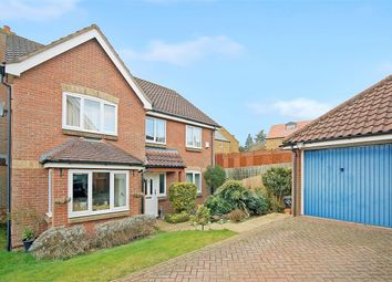 Thumbnail 4 bed detached house for sale in Station Mews, Great Billing, Northampton