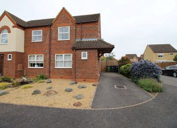 Thumbnail 2 bed semi-detached house for sale in Deighton Close, St. Ives, Huntingdon