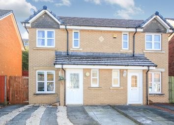 Thumbnail 2 bed semi-detached house for sale in Bowhouse Drive, Rutherglen, Glasgow