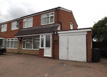 Thumbnail 3 bed semi-detached house for sale in Rover Drive, Smiths Wood, Birmingham, West Midlands