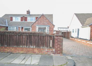 Thumbnail 3 bed bungalow for sale in Bamburgh Gardens, Sunderland