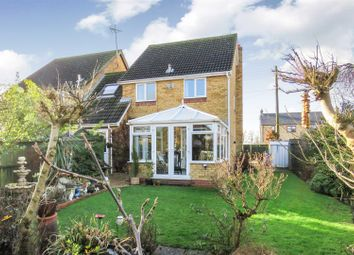 Thumbnail 4 bed link-detached house for sale in Oilmills Road, Ramsey Mereside, Ramsey, Huntingdon