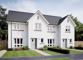 "Thumbnail 3 bedroom semi-detached house for sale in ""The Banton"" at Ravensheugh Brae, Musselburgh"