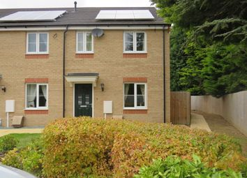 Thumbnail 3 bed end terrace house for sale in Viscount Close, Pinchbeck, Spalding