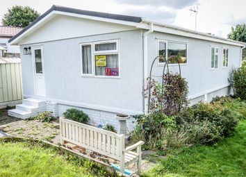 Thumbnail 2 bed mobile/park home for sale in Brookside Mobile Home Park, Bromham, Bedford